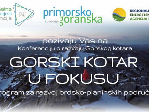 [POZIV] Konferencija o razvoju Gorskog kotara: Gorski kotar u fokusu